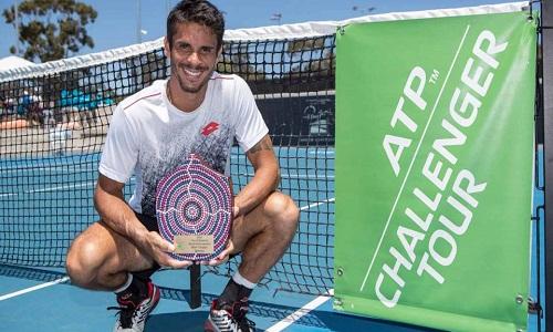 Depois do título o tenista  Rogerinho sobe 25 posições no ranking da ATP