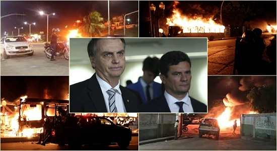 Criminosos debocham de Bolsonaro durante ação no Ceará