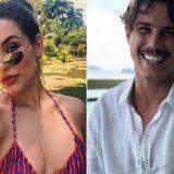 A atriz Kéfera foi vista com  Romulo Neto curtindo  uma festa no Rio bem juntinhos