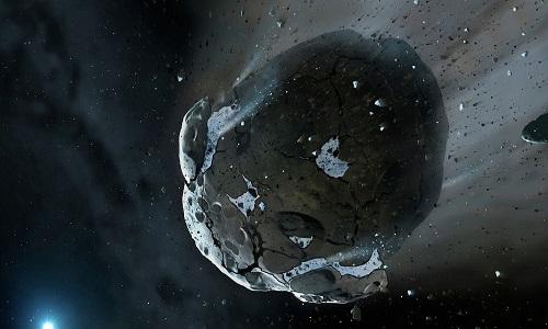Como foi a queda de asteroides nos primórdios da Terra
