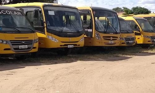 As Frota de ônibus escolar estão prontas para o ano letivo em Feira de Santana
