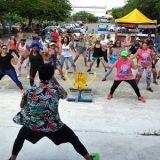 O Projeto do Verão animou o  Parque Erivaldo Cerqueira aos sábados