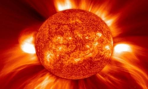 Astrônomos registrou uma grande  explosão mortífera na  estrela vizinha