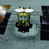 A Sonda japonesa está se preparando  para o bombardeio de asteroide impenetrável