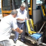 A Prefeitura de Feira de Santana  recebeu ônibus adaptados do Governo para atender aos setores de Saúde e Educação