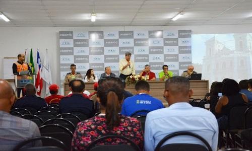 O Prefeito Colbert Martins assinou o  pedido de inscrição de Feira de Santana em programa da ONU