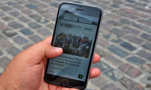 A Internet grátis vem beneficiando mais de  30 mil feirenses por dia