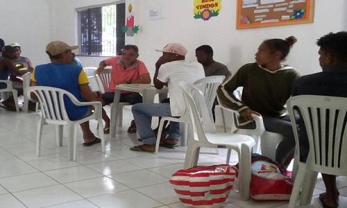 Moradores de rua de Feira de Santana  buscam qualificação profissional através de cursos oferecido pelo Cicaf