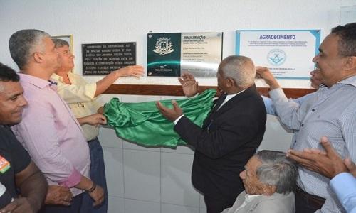 O Prefeito  de Feira de Santana inaugurou a Escola de Formação de Guardas Mirins Antônia Costa