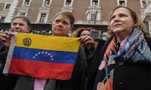 A Itália a favor de novas eleições na Venezuela, é não reconhece o opositor Juan Guaidó