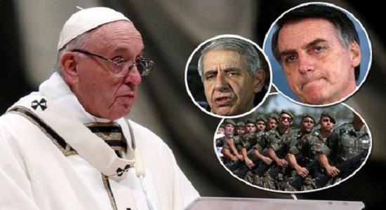 O que motivaria espionagem à Igreja Católica?