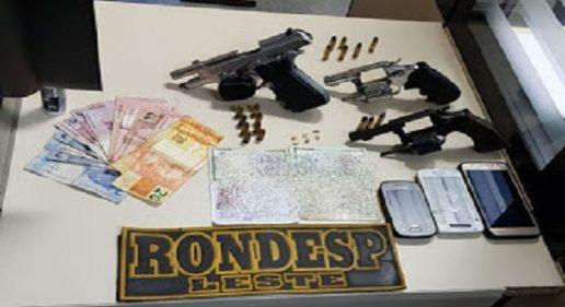 Briga de Facções  na Rocinha faz Rondesp Leste apreende armas de fogo