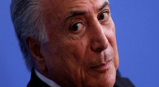 BARROSO MANDA INVESTIGAÇÃO CONTRA TEMER NO CASO DOS PORTOS PARA 1º INSTÂNCIA