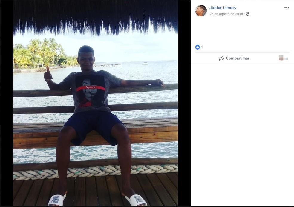 Um Jovem é morto na frente dos filhos um dia após postar em rede social sua saída da prisão