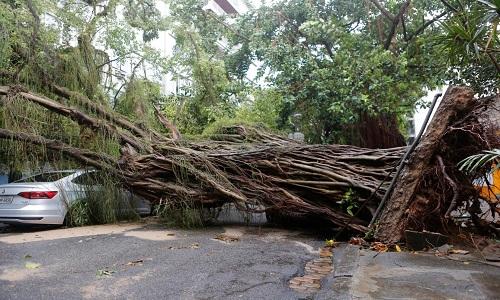 Entenda como foi a  força do vento que atingiu o Rio de Janeiro