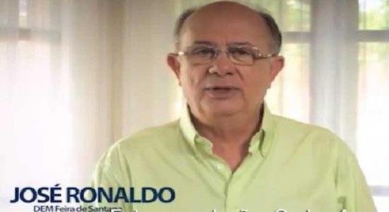 MP aciona o ex-prefeito de Feira de Santana José Ronaldo por improbidade administrativa