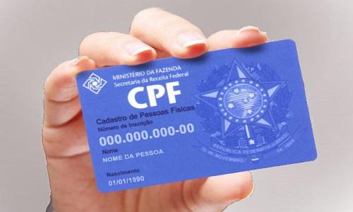 CPF vira documento único para acessar informações e benefícios do governo.