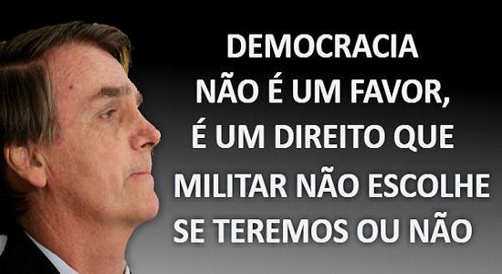 Jair Bolsonaro cometeu sua maior estupidez