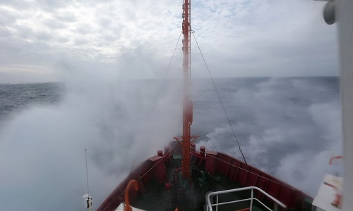 Viagem no Drake, o mar mais perigoso do mundo.