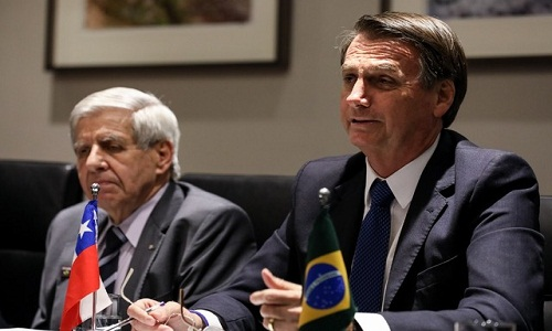 Bolsonaro discute nesta sexta-feira criação de fórum para substituir Unasul, no Chile
