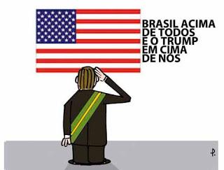 O tirano Trump quer transformar o Brasil em uma colônia estadunidense/ Por Sérgio Jones*
