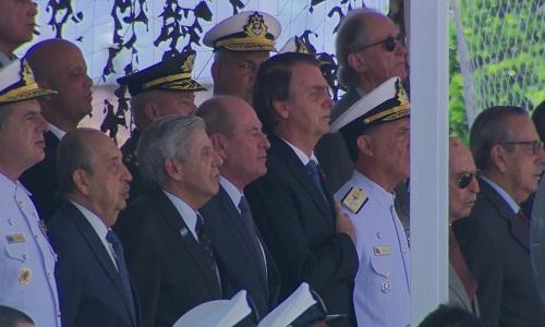 Bolsonaro: Democracia e liberdade só existem quando as Forças Armadas querem