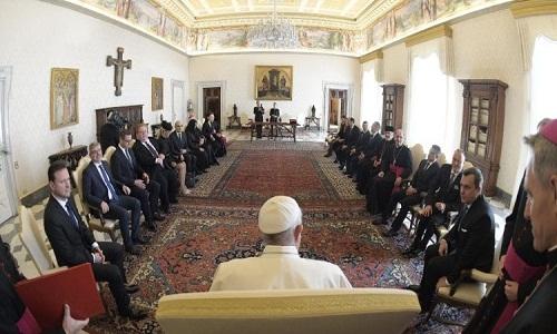 Papa: São Cirilo ensina conviver na diversidade