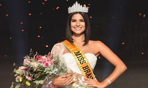 Nova miss Brasil, Júlia Horta mostra sua beleza campeã em fotos de biquíni.