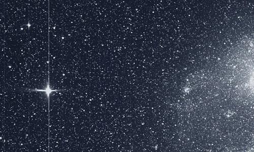 Cientistas descobrem estrela enigmática.