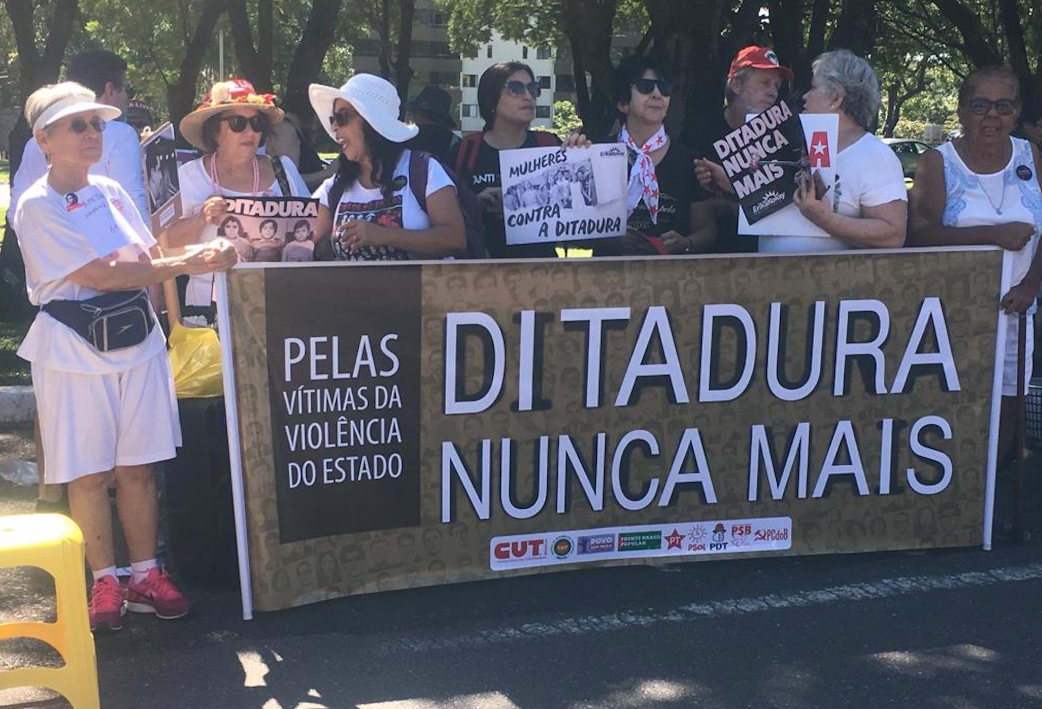 Cidades brasileiras com atos pró e contra a ditadura militar neste domingo