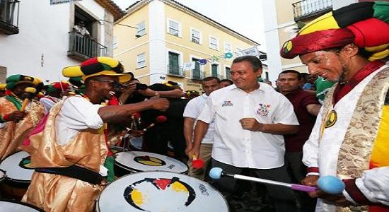 Rui participa da saída do Olodum e abre o Carnaval do Pelô nesta sexta