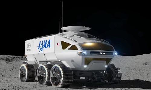 Toyota e agência espacial japonesa concordaram em desenvolver veículo para rodar na Lua