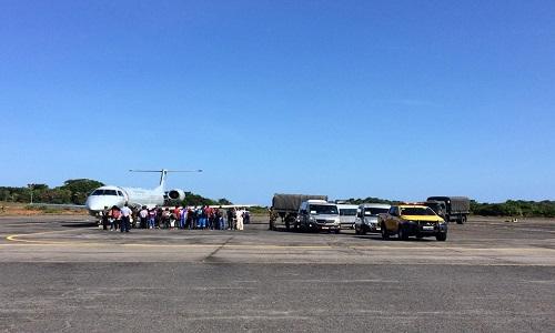 Bahia recebe mais quatro venezuelanos.