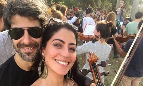 Carol Castro se separa do violinista Felipe Prazeres.