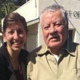 A mulher que salvou homem do corredor da morte