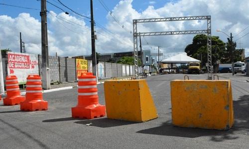 Trânsito no trecho do Circuito Maneca Ferreira será interditado a partir desta quinta-feira.