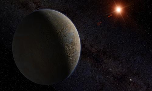 Suposto 2º planeta é encontrado próximo de estrela.