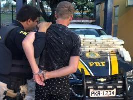 Aproximadamente 42 quilos de cocaína são aprendidos pela PRF na BR 116 em Feira de Santana