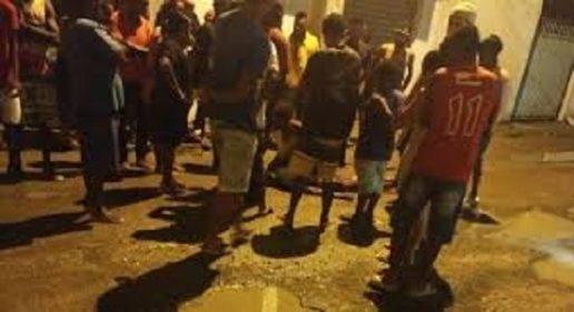 MAIS UM CRIME DE MORTE NO BAIRRO SANTO ANTÔNIO DOS PRAZERES