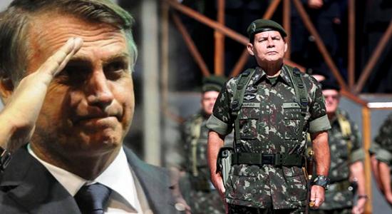 O PRESIDENTE INCENTIVA ATAQUES DE ALIADOS  AO SEU VICE