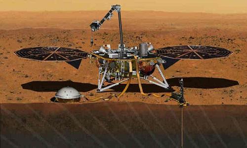 Sonda da Nasa registra primeiro possível terremoto em Marte