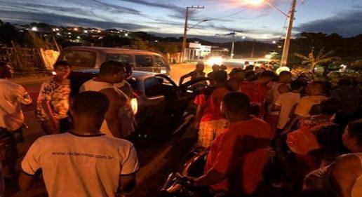 Colisão entre moto e carro deixa motociclista ferido na BR-330
