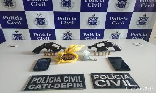 Operação de combate a crimes violentos prende 3 suspeitos no sul da Bahia