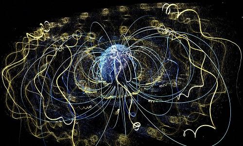NASA publica foto deslumbrante de partículas voando quase à velocidade da luz
