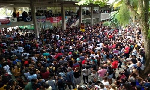 Centrais sindicais anunciam greve geral da educação para esta quarta-feira
