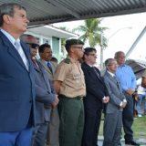 Prefeito participou das comemorações do Dia da Infantaria, no 35º BI