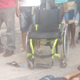 Cadeirante é executado em frente à agência bancária