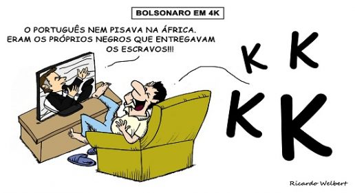 Jair Bolsonaro encheu-se do vazio