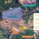 Talude da barragem em Barão de Cocais se move 16 cm em ponto mais crítico
