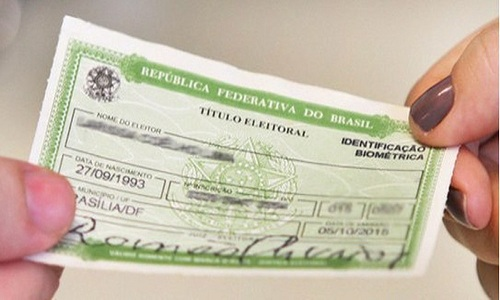 Justiça eleitoral cancela 2,4 milhões de títulos